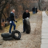"On November 14, 2014, action ""Let's keep the city clean"" took place on the territory adjacent to the NUPh"