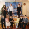 December 19, 2013 Holiday program to St. Nicholas Day in the boarding school № 8