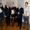 March 25, 2015, awarding ceremony of winners of the 1st stage of the All-Ukrainian student's Olympiad in the academic year 2014-2015