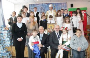 December 19, 2012. Holiday program for Saint Nicholas Day at the boarding school №8