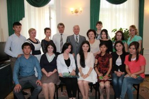 20.05.2013 Manufacturing practice of students from South-Kazakh State Pharmaceutical Academy 8