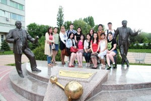 Manufacturing practice of students from South-Kazakh State Pharmaceutical Academy 4
