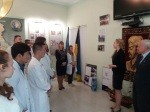 06.05.2016 in the museum of history of NUPh took place opening of the exhibition devoted to the Day of memory and reconciliation and the Victory Day over Nazism in the Second world war