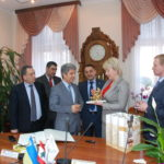 On March 22, 2018, delegation of the Embassy of the Lebanese Republic in Ukraine visited the NUPh.